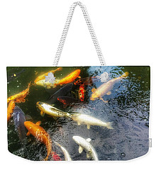 Reflections And Fish 5 Weekender Tote Bag