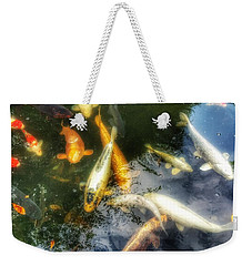 Reflections And Fish 7 Weekender Tote Bag