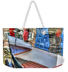 Reflections And Ripples Weekender Tote Bag by Nadia Sanowar