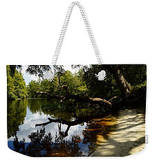 Reflections And Shadows Weekender Tote Bag by Warren Thompson
