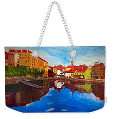 Czech Reflections Weekender Tote Bag