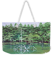 Reflections Weekender Tote Bag by Christine Lathrop
