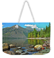 Reflections Glacier National Park  Weekender Tote Bag
