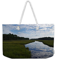 Weekender Tote Bag featuring the photograph Reflections by Greg Graham