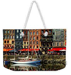 Reflections Honfleur France Weekender Tote Bag