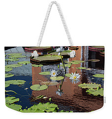 Weekender Tote Bag featuring the photograph Reflections II by Suzanne Gaff