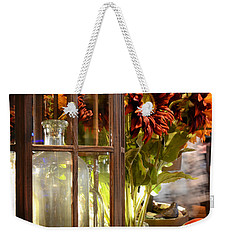 Reflections In A Glass Bottle Weekender Tote Bag