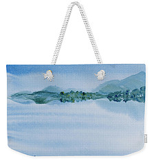 Reflection Of Mt Rugby In Bathurst Harbour Weekender Tote Bag