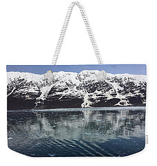 Reflections In Icy Point Alaska Weekender Tote Bag