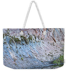 Weekender Tote Bag featuring the photograph Reflections In Oak Creek Canyon by Sandra Bronstein