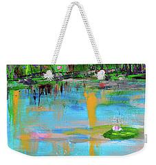 Reflections In Spring Weekender Tote Bag