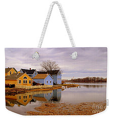 Reflections In The Harbor Weekender Tote Bag