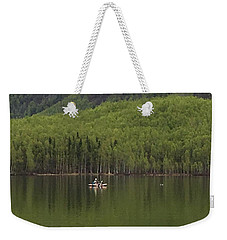 Reflections In The Lake Weekender Tote Bag