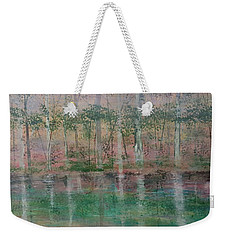 Reflections In The Mist Weekender Tote Bag by Judi Goodwin