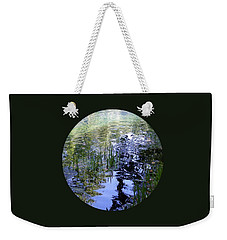 Weekender Tote Bag featuring the photograph Reflections  by Mary Wolf