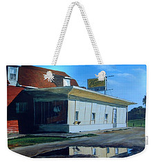 Reflections Of A Diner Weekender Tote Bag