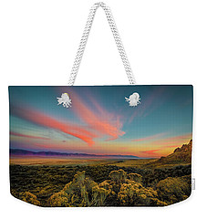 Reflections Of A Sunset Unseen Weekender Tote Bag