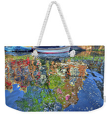 Reflections Of Amsterdam Weekender Tote Bag by Nadia Sanowar