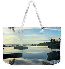 Reflections Of Bali Weekender Tote Bag