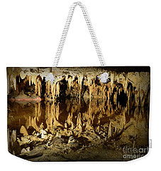 Weekender Tote Bag featuring the photograph Reflections Of Dream Lake At Luray Caverns by Paul Ward