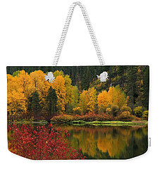 Reflections Of Fall Beauty Weekender Tote Bag