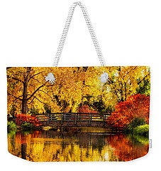 Reflections Of Fall Weekender Tote Bag