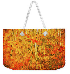 Weekender Tote Bag featuring the photograph Reflections Of Fall by Rick Furmanek
