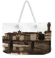Reflections Of Florence Weekender Tote Bag