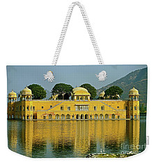 Reflections Of India Weekender Tote Bag by Michael Cinnamond
