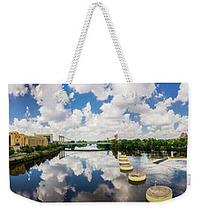 Reflections Of Minneapolis Weekender Tote Bag