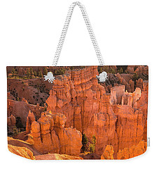 Reflections Of Morning Light Weekender Tote Bag by Angelo Marcialis