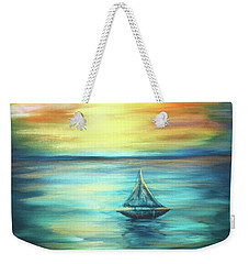 Reflections Of Peace Weekender Tote Bag