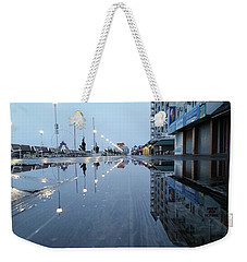 Reflections Of The Boardwalk Weekender Tote Bag