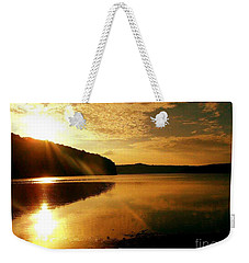 Reflections Of The Day Weekender Tote Bag