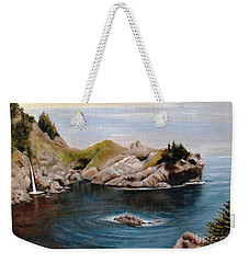 Reflections Of The Past Weekender Tote Bag by Hazel Holland
