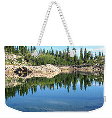 Reflections On Lake Mary Weekender Tote Bag