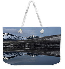 Reflections On Lake Mcdonald 3 Weekender Tote Bag