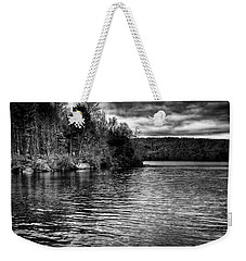 Reflections On Limekiln Lake Weekender Tote Bag by David Patterson