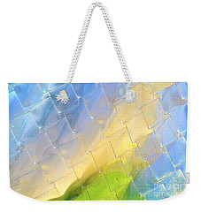 Reflections On Peter B. Lewis Building, Cleveland Weekender Tote Bag