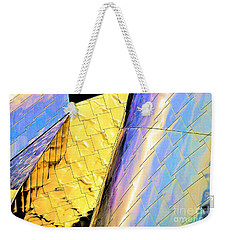 Reflections On Peter B. Lewis Building, Cleveland2 Weekender Tote Bag
