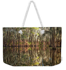 Reflections On The Bayou Weekender Tote Bag