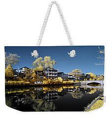 Reflections On Wesley Lake Weekender Tote Bag