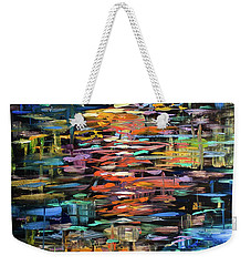 Reflections Rain Weekender Tote Bag