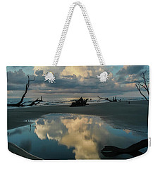 Weekender Tote Bag featuring the photograph Reflections by Ronald Santini