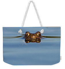 Reflections - Toad In A Lake Weekender Tote Bag