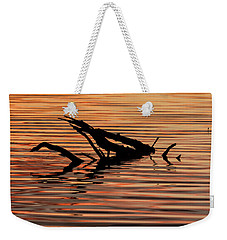 Reflective Abstract Weekender Tote Bag