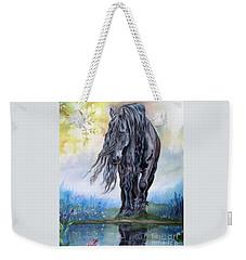 Reflective Beauty Weekender Tote Bag