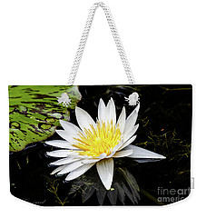 Reflective Lily Weekender Tote Bag