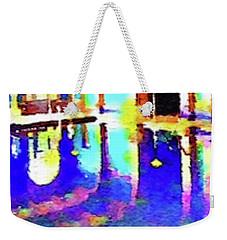 Reflective Pool Hearst Castle Weekender Tote Bag by Joan Reese