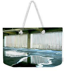 Reflective Pool Weekender Tote Bag